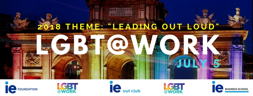LGBT@Work - Leadling Out Loud Conference Banner